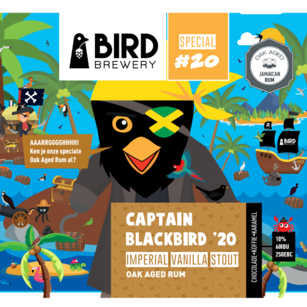 Captain Blackbird OA Rum